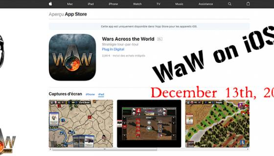 WAW IOS Release