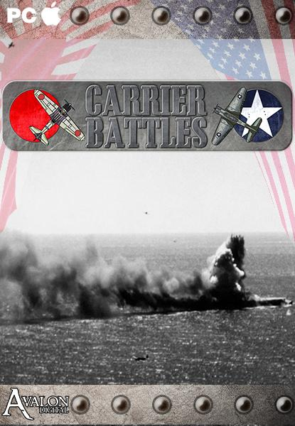 Couverture Carrier Battles